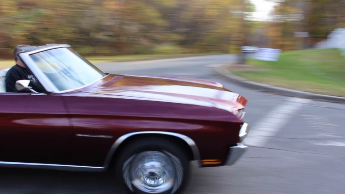 Mark Mancini of Watertown, Conn. owns a rare 1970 Chevrolet Chevelle Malibu convertible. What makes it rare is that it has a six-cylinder engine and is one of only 381 ever built.
