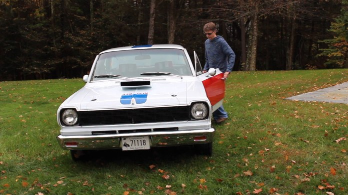 Paul DeMaria of Torrington, Conn. owns a rare muscle car - a 1969 SC/Rambler from American Motors. Only 1,512 were built. DeMaria found his online about 10 years ago.