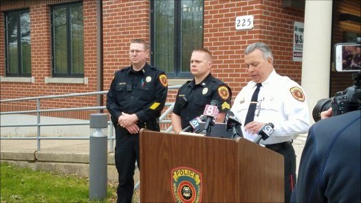 Wolcott Police held a press conference Monday morning concerning a head-on crash on Feb. 3 that killed an off-duty state trooper.