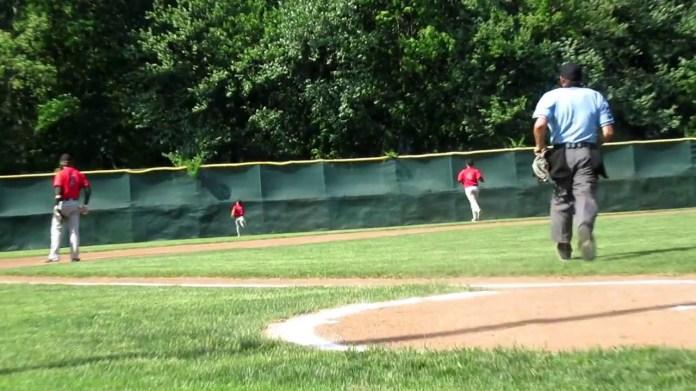 Baseball state tourney: Wolcott's Santino Ciarlo on homer