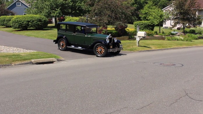 Rich Dayton of Watertown, Conn. has owned a 1928 Buck Master Six for 56 years. He bought it when he was 14 years old for $400. It was parked between 1967 and 1995, but has been on the road for the past 20 years. My Ride went for a spin...