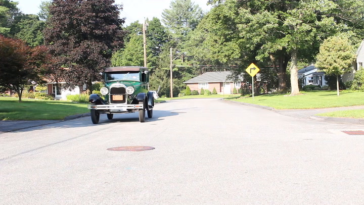"""Don Bruno of Torrington, CT collects early Fords. He owns two Model Ts and two Model As. One Model A is a 1928, the year the model was introduced, and the other is 1931. He shows them off in """"My Ride."""""""