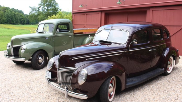 Jeff Jacobson of Cornwall, Conn. owns two pre-World War II models from Ford - a sedan and a pickup. One gets a lot of use, the other not so much. But their art deco styling and singular features make them stand out. Jacobson shares them in My Ride.