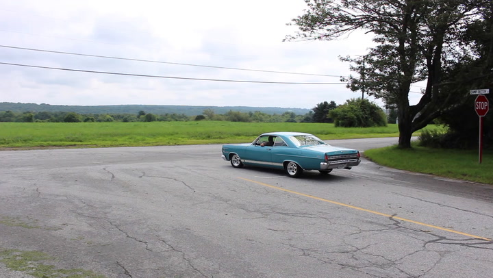 Brothers Jason Marshall of Litchfield, Conn. and Wyatt Marshall of Torrington, Conn. jointly own a mildly modified 1967 Mercury Comet Caliente that they bought out of Massachusetts last October. It serves a specific purpose for the brothers.