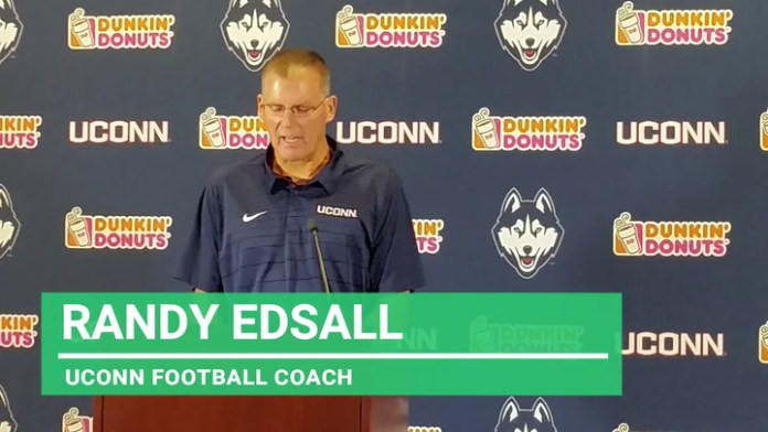 UConn football: Edsall on challenge of facing Cincinnati