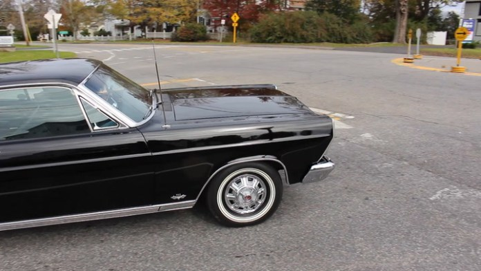 Bruce Martin of Goshen, Conn. owns a 1966 Ford Fairlane 500 that he's owned since it was new. He's driven it 55,000 miles in 52 years and keeps it in pristine condition. Except for a new paint job in 1992, it's all original.