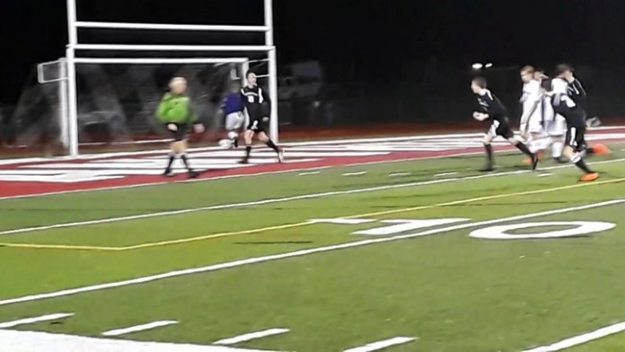 Pomperaug's Zach Hoedl scores tourney goal