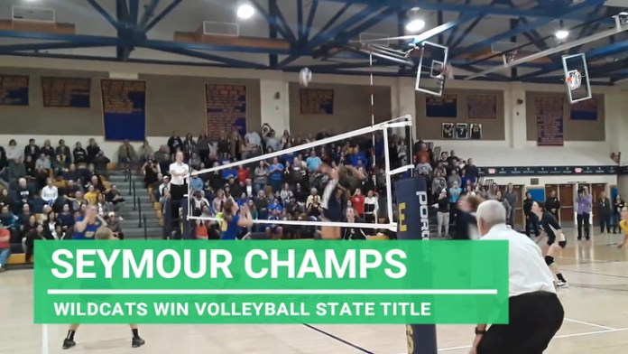 Seymour wins state volleyball championship
