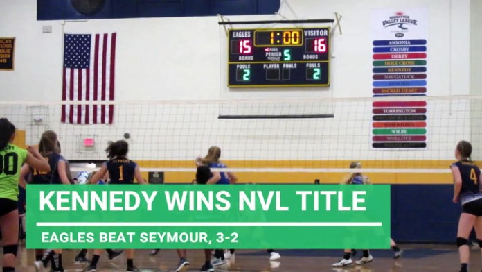 Kennedy tops Seymour for NVL volleyball championship