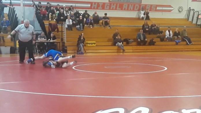 Gilbert wrestling: Nick Barber