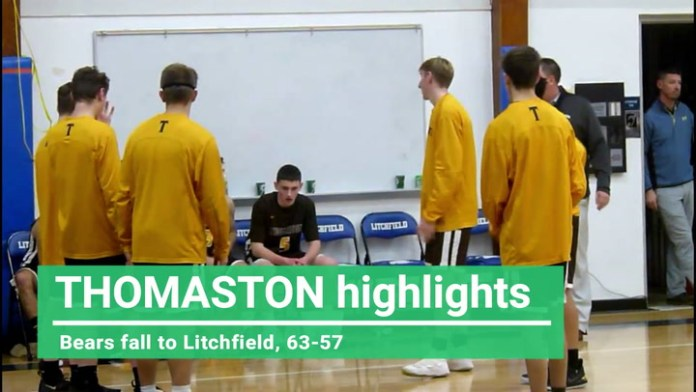 BL boys basketball: Thomaston falls to Litchfield