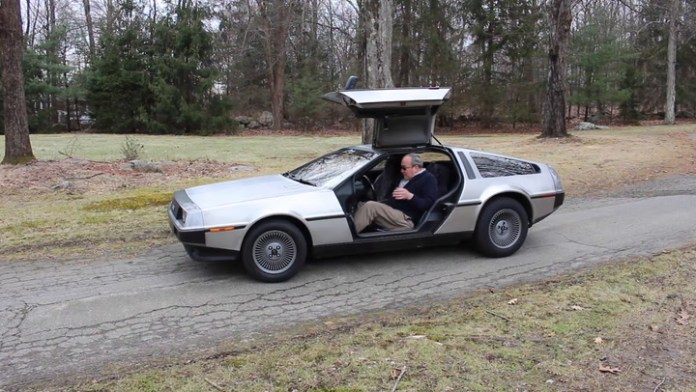 "Lou Hardt of Watertown, Connecticut owns a 1981 DeLorean sports car that gets lots of attention because of the ""Back to the Future"" movie franchise which featured a DeLorean that was capable of time travel. He shares it in My Ride."