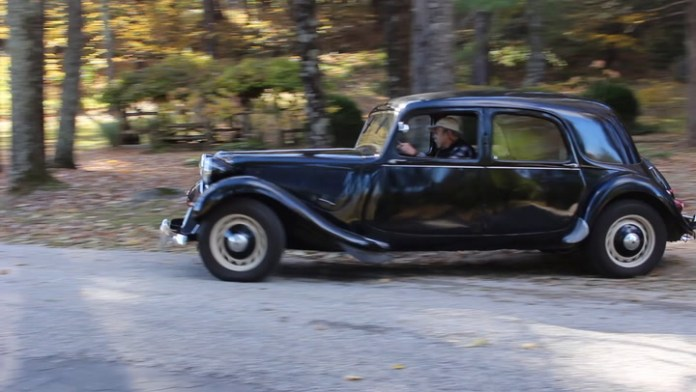 Don Breslauer of Salisbury, Conn. owns a 1950 Citroën Traction Avant that he likes for its styling. It has many unique features, including a shifter in the dashboard. He shows it off in My Ride.