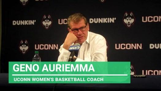 UConn coach Auriemma: On different coaching approach