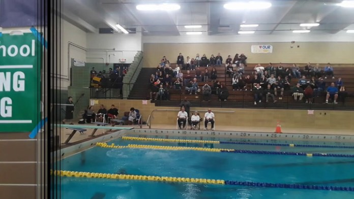 Woodland's Clark wins NVL diving championship