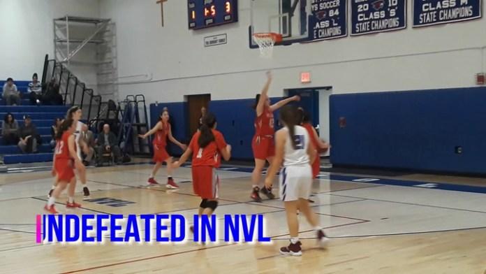 NVL girls final: Holy Cross vs. St. Paul