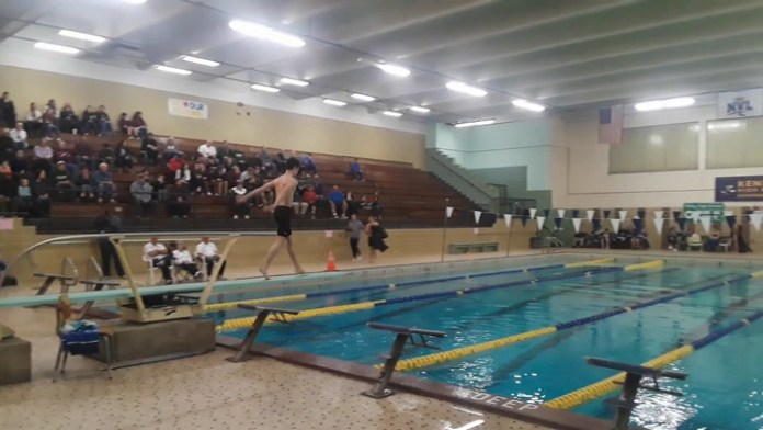 Action from NVL diving championships