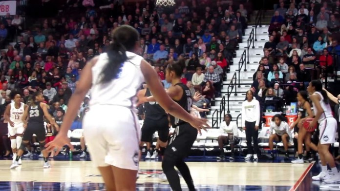 UConn in Sweet 16: Crystal Dangerfield