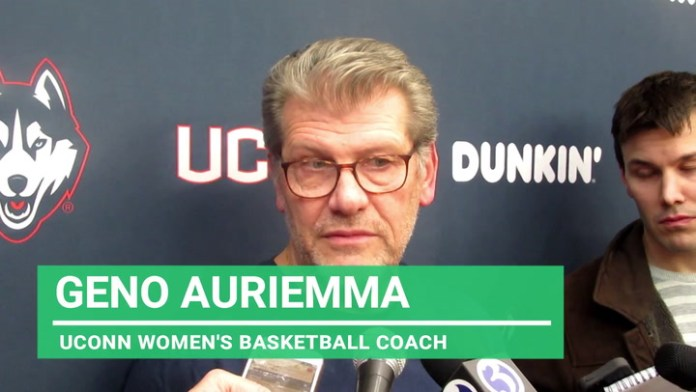 UConn coach Auriemma: On difference being 1 or 2 seed