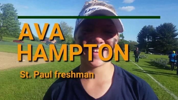 St. Paul freshman Ava Hampton