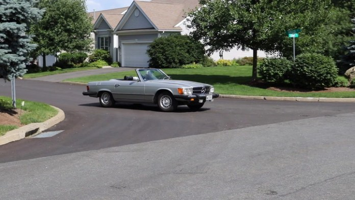 Scott Carrion of Oxford, Conn. owns a 1976 Mercedes-Benz 450 SL that he acquired in June 1990. He says it was a Father's Day present to himself. My Ride has the story behind the SL.