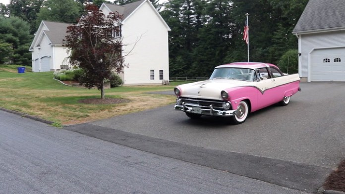 """Augie Vagnini Jr. of Middlebury, Conn. owned a 1955 Ford Crown Victoria when he was in high school, and had to have another as an audlt. He found a 1955 Ford Fairlane Crown Victoria in 2008, restored it and has been driving it since 2014. He shares it in """"My Ride."""""""