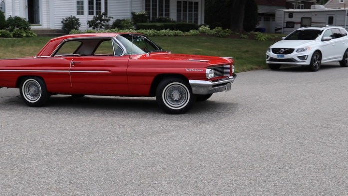 Bob Zeller of Torrington, Conn. has owned his bright red 1962 Pontiac Catalina for 24 years, having had Pontiac GTOs before it. It's a beauty with a four-speed manual transmission and bucket seats, and therein lies a story that's told in My Ride.