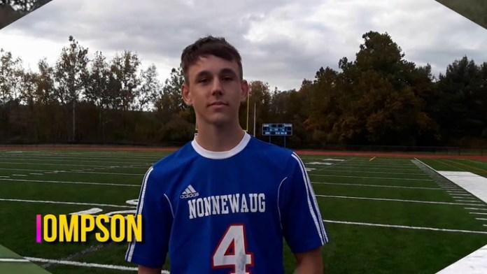 Nonnewaug's Zach Thompson scores 3 vs. Thomaston