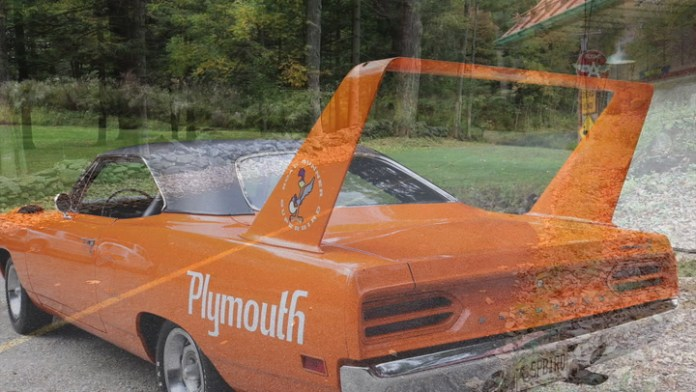 Mike Metzger of Salisbury, Conn. owns a rare 1970 Plymouth Superbird. The car was a variant of the Road Runner model, designed for NASCAR racing. Fewer than 2,000 street models were sold. Metzger redcounts its acquisition in My Ride.