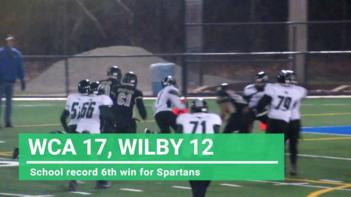 WCA gets big football win over Wilby