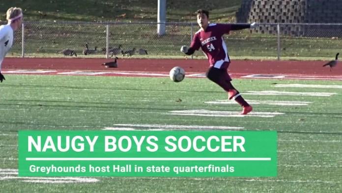 Naugatuck boys soccer in quarterfinals