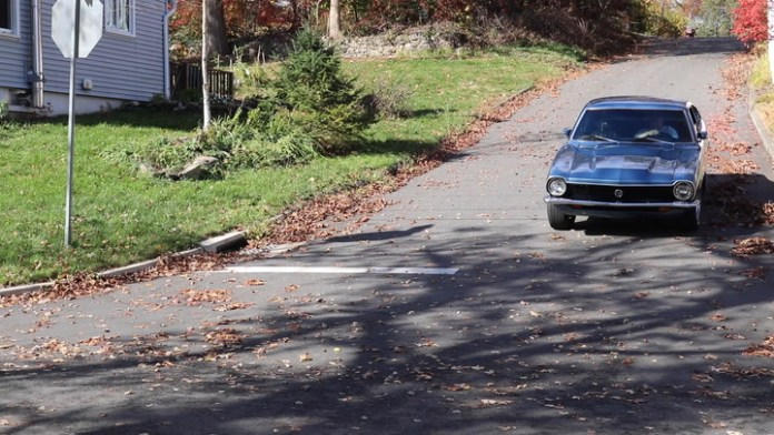Gary Del Buono of Oakville, Conn. has taken a 1971 Ford Maverick that he bought roughly seven years and improved the performance by installing a five-liter V8 engine from a 1986 Ford Mustang. That's ironic because he got the Maverick because he was tired of seeing Mustangs at car shows. He shares the Mavrick in My Ride.