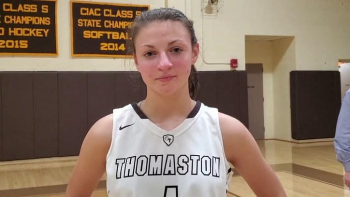 BL girls basketball: Thomaston's Emma Kahn