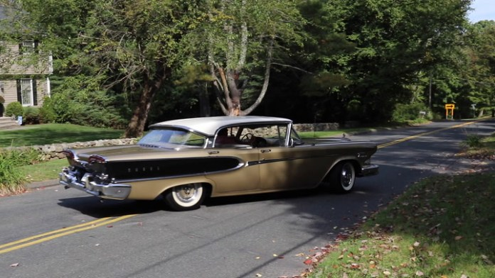 Ed DeLuca of Watertown, Conn. found a 1958 Edsel Corsair in a junkyard in 2012 and spent five years restoring it. It now looks like it belongs on a showroom floor. He shares it in My Ride.