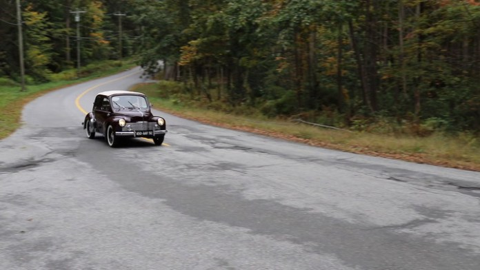 """Jean-Pierre """"J.P."""" Vincent of Litchfield, Conn. received an offer last fall for his 1953 Renault 4CV convertible and opted to part with it, but did enjoy it for 25 years. Before turning over the keys, he shared it with My Ride."""