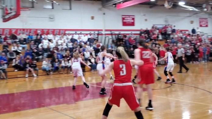 Northwestern girls highlights from BL final
