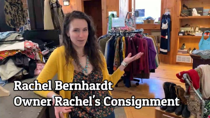Scene on reopening day: Litchfield business owner Rachel Bernhardt