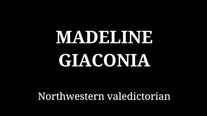 Northwestern's Madeleine Giaconia