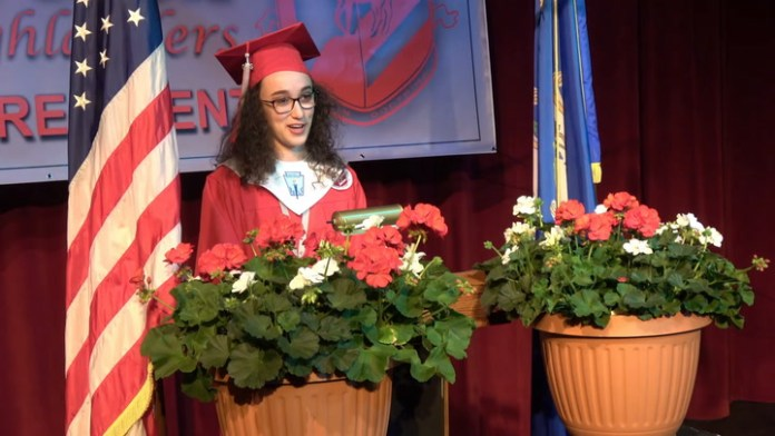 Graduation speech: Northwestern Regional High