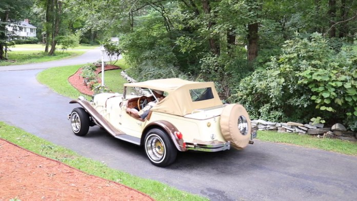Bill Bowens of Bethany, Conn. has owned his 1985 Gazelle, a replica of a 1929 Mercedes-Benz SSK roadster, for 35 years. It was a gift from his wife. He shares it in My Ride.