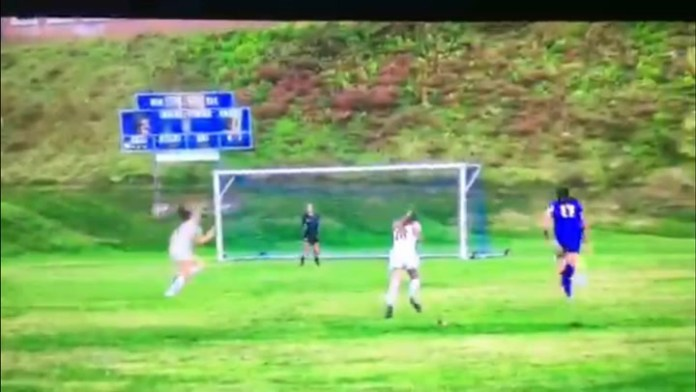 Housatonic's Tori Dodge with terrific goal