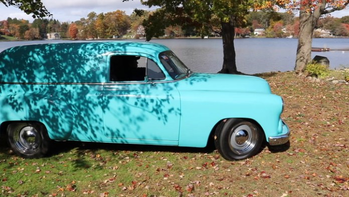A hot-rodded 1951 Chevrolet Sedan delivery model has been in a Wolcott, Conn. family for nearly 38 years and three generations have been involved in its restoration. Chuck O'Neil and his son, Keith, are the current custodians. They show it off in My Ride.
