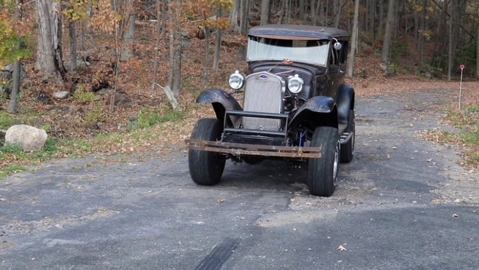 Neal Robinson of Harwinton, Conn. just spent two years turning a 1931 Ford Model Tudor sedan into a lifted, four-wheel-drive model. It's not completed yet, but it is on the road, and Robinson shows it off in My Ride.