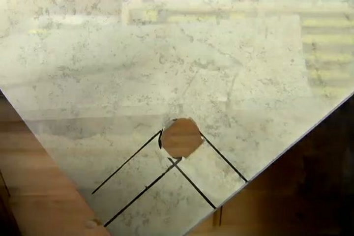 how to make holes in ceramic tile