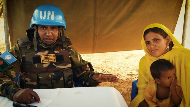 Bangladeshi UN Peacekeepers Deliver Critical Medical Aid to Remote Communities