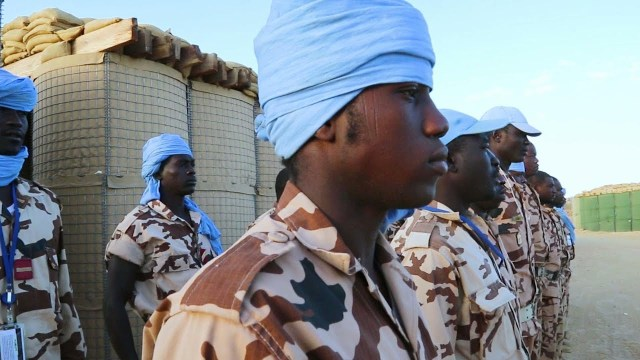 Chadian Peacekeepers saving lives in Mali