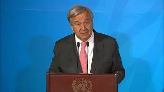 UN Chief at the Closing of Climate Action Summit 2019