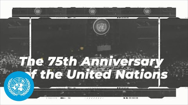 The 75th UN General Assembly – Live on YouTube #UNGA75
