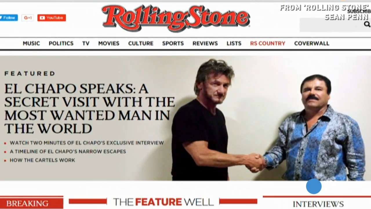 Rolling Stone' stirs controversy with drug lord interview