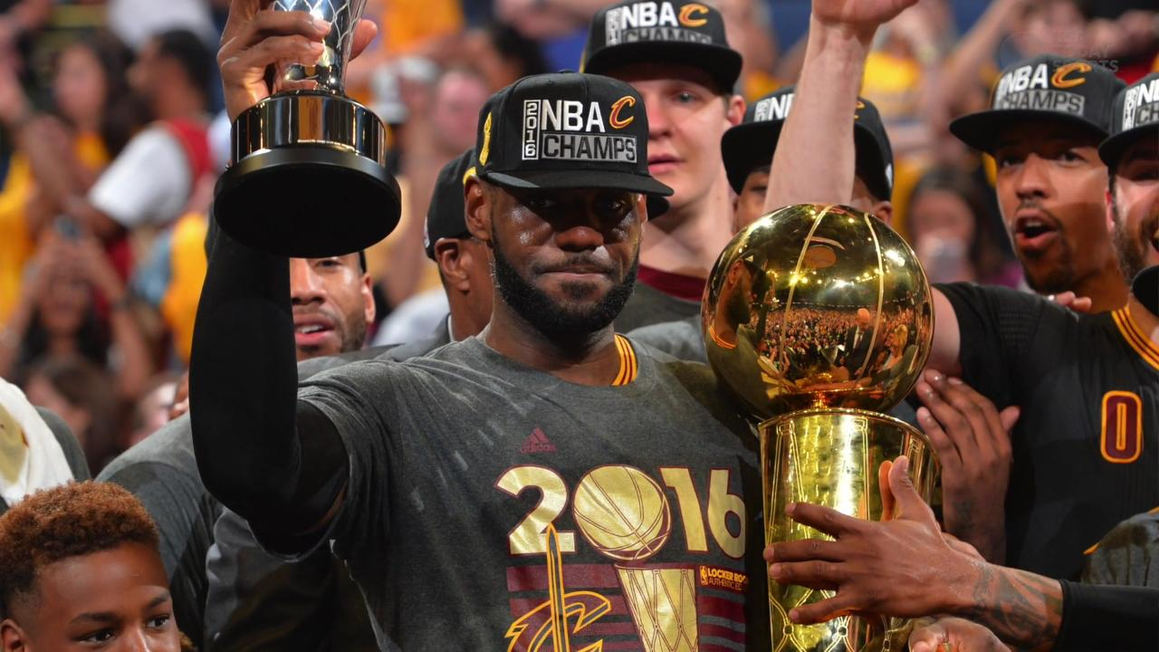 Image result for lebron james cavs title